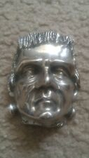 Frankenstein Belt Buckle Horror Universal Monsters psychobilly