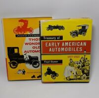 Treasury Of Early American Wonderful Old Automobiles - Floyd Clymer, Historical