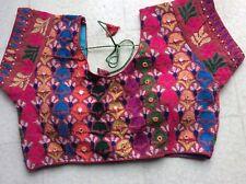 Indian Pakistani Kuchi embroidery hand work blouse Saree choli Anarkali Salwar