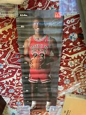 Michael Jordan 1989 **RARE** McDonald's 3 Piece Poster = Full size Jordan