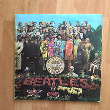Beatles Sgt Peppers Lonely Hearts Club Band Mono PMC 7027 w/Inner + Insert