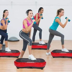 3D Vibration Platform Plate Machine Slim Whole Body Exercise Fitness Massager