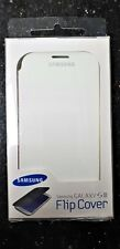 Genuine Samsung Galaxy S3 White & Black Flip Cover Phone Case