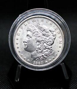 1889 Morgan Silver Dollar BU Fantastic Coin!