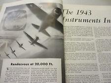Instruments Electrical Engineering Measurement oscillography Aeronautics 1943