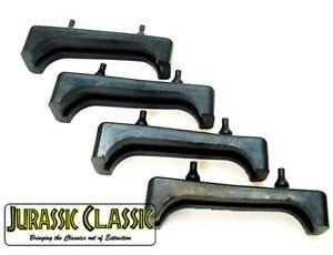 Buick Pontiac 3 & 4 Row Radiator Core Support Rubber Insulators Pads Cushions GM