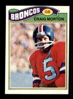 1977 Topps #27 Craig Morton NM/NM+ Broncos 505533