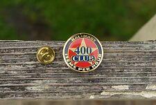 Wal-Mart 400 Club Items Per Hour Gold Tone Metal Enamel Employee Pin Pinback