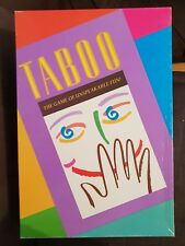 TABOO the game of unspeakable fun - 1990 milton bradley - free shipping