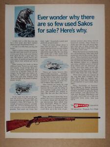 1976 Sako M74 Super Rifle vintage print Ad