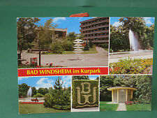 AK Bad Windsheim im Kurpark - ältere Ansichtskarte von 1997