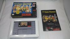 THE LOST VIKINGS (Super Nintendo Entertainment Sys) COMPLETE IN BOX! SNES Puzzle