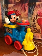 Vintage 1960s MICKEY MOUSE Poppin Loco Train by DISNEY