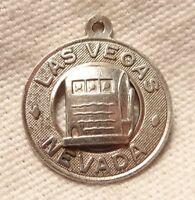 Vintage Slot Machine Charm Sterling Silver Danecraft Las Vegas Nevada