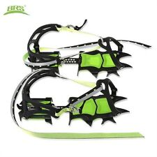 Pair Ice shoes grippers Ice claw Outdoor Fourteen Teeth Bundled Crampon Ice Grip