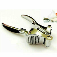 Garlic Press Heavy Duty stainless steel Crusher Squeezer Kitchen Bar Gadget Tool
