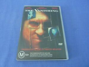The Vanishing DVDJeff Bridges Kiefer Sutherland Nancy Travis R4 TRACKED