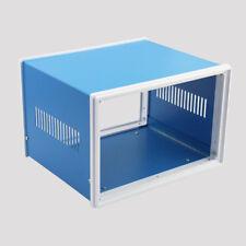 Metal Blue Electronic Project Junction Box Enclosure Case DIY 140 x 210 x 180mm