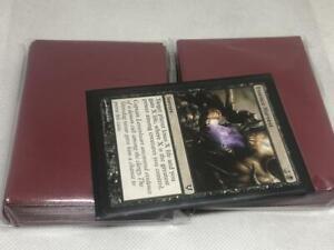 Lenayuyu 100pcs Brownblack Protector Standard MTG Card Sleeves 66x91mm Glossy