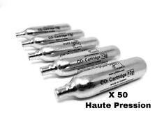50 X Co2 PUFF DINO CO2 Cartouches Co2 Airsoft 12g Première Marque Vérins Haute