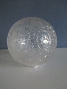 Ersatzglas-Kugellampe-Midcentury-Strukturglas