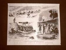 Guerra Serbia - Turchia nel 1876 Cannoni Krupp Alexinatz Prigionieri Eyub Pascià