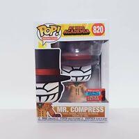 Funko Pop Vinyl Mr. Compress #820 - NYCC 2020 Shared Sticker