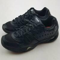 Prince Womens Tennis Court Shoes T22 Black 81320010 2013 Low Top Mesh Lace Up 9