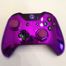 Xbox One 1 Custom Wireless Controller (Chrome Purple) Domed Thumbsticks