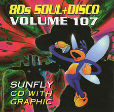 Sunfly Hits Karaoke Disc Vol 107 SF107 - 80's Soul & Disco