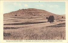 21- cpa - Montagne où se trouve les restes de l'Abbaye St Vivant