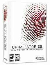 CRIME STORIES From the Files of MARTIN MYSTERE PC Game Adventure in BOX