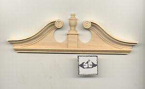 Door Pediment - fits Double Deerfield - dollhouse 1:12 scale 7172 1pc Houseworks