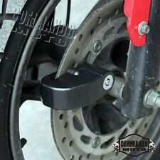 Motorcycle Bike Metal Anti-Theft Security Wheel Disc Brake Loud Alarm Lock Black
