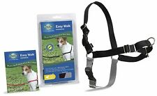 PetSafe Easy Walk Dog Harness Adjustable High-Quality Nylon Petite Small Black