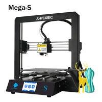 "EU Anycubic Mega-S FDM 3D Printer Kit 3.5""TFT Screen Full Metal Frame No 1KG PLA"