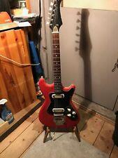 Klira E-Gitarre aus den 60er Jahren Tolexbezug