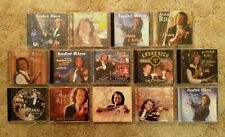 Lot 14 ANDRE RIEU CDs Live In Concert Vienna Love Christmas Gala Classical Waltz