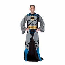 New Batman Comic Book Superhero Fleece Snuggies with Sleeves in box