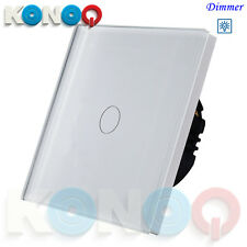 KONOQ Luxury Glass Panel Touch LED Light Smart Switches Touch,Dimmer,Remote,WIFI
