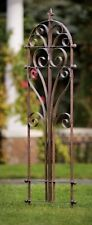 GAR214 H Potter Italian Iron Garden Trellis Metal Yard Wall Art Outdoor Living