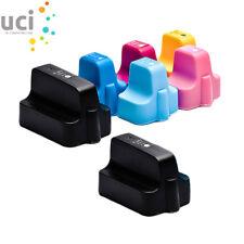 7 UCI® Ink fit for HP363 Photosmart 3310 C7180 3108 C5180 8250 C7180 D6100 C6180
