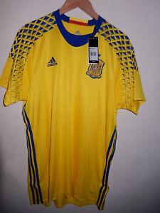 New Spain Player Issue Adizero away goalkeeper jersey 2016 BNWT Adidas 10/XL