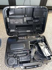 Sears Roebuck Solid State VHS Vintage Movie Camera W/ Case