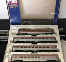 LIMA 149758 GP ECHELLE HO 1/87 COFFRET SNCF CC 40101 + 3 VOITURES TEE INOX