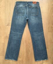 RALPH LAUREN MERCER MENS W32 L32 SLIM FIT STRAIGHT LEG DENIM JEANS