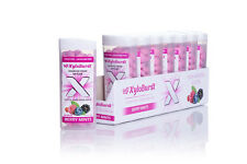Xyloburst (All-Natural Xylitol) Berry Flavor Mints 60 Count Jars - 8 Pack