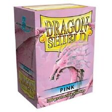 Dragon Shield Standard Size Card Barrier Protector Sleeves 100ct - Pink