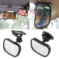 Universal Car Rear Seat View Mirror Baby Child Safety With Clip and Sucke TwJ md