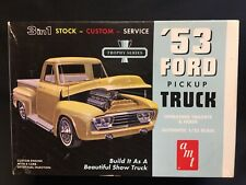 AMT Models #882 1953 Ford Pickup 1:25 New Open Box T6